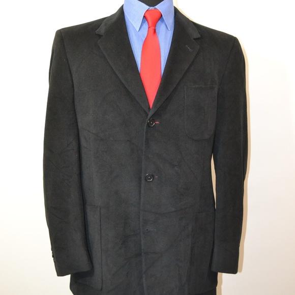 Kenneth Cole Other - Kenneth Cole 42R Sport Coat Blazer Suit Jacket Bla